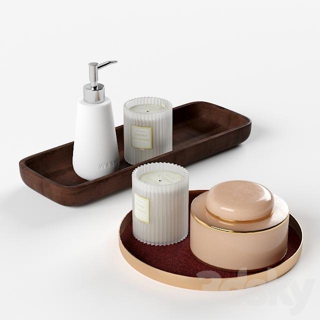 H & M Decorative Set