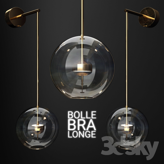Bra G & C Bolle Soffio (vertical long) CLEAR / COLD