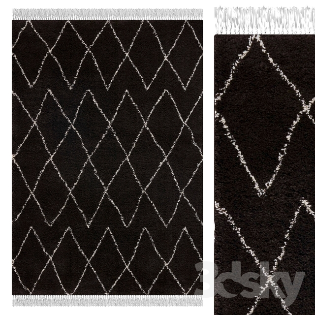 Carpet Think Rugs Boho 8280 Brown / White