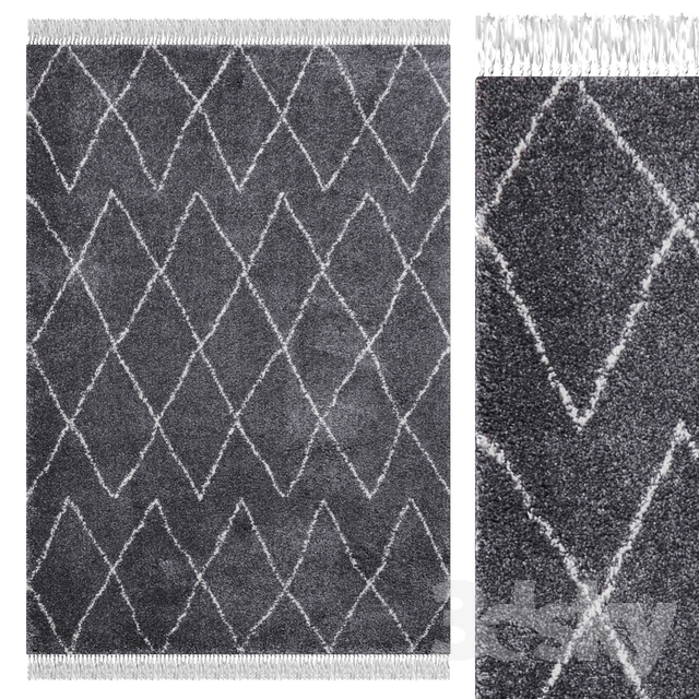 Carpet Think Rugs Boho 8280 Gray
