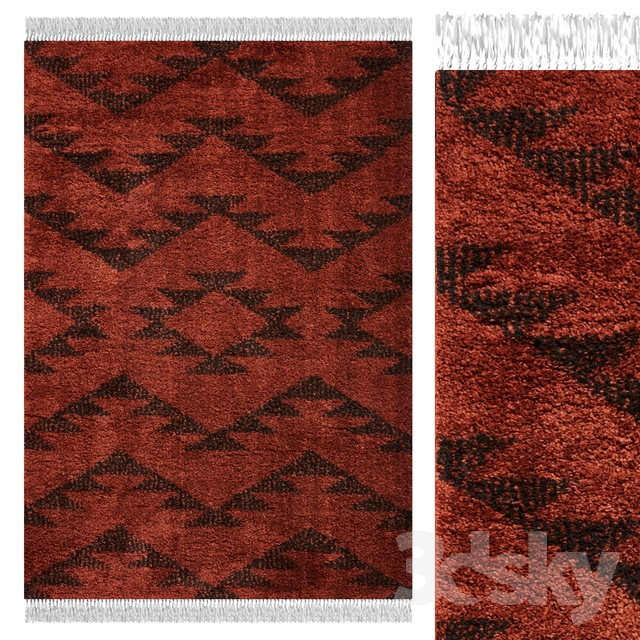 Carpet Think Rugs Boho 8733 Terra