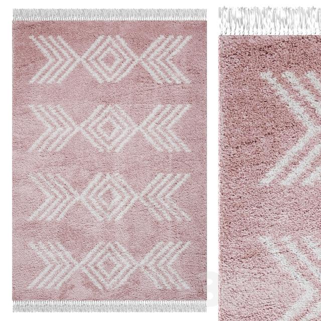 Carpet Think Rugs Boho 8886 Rose