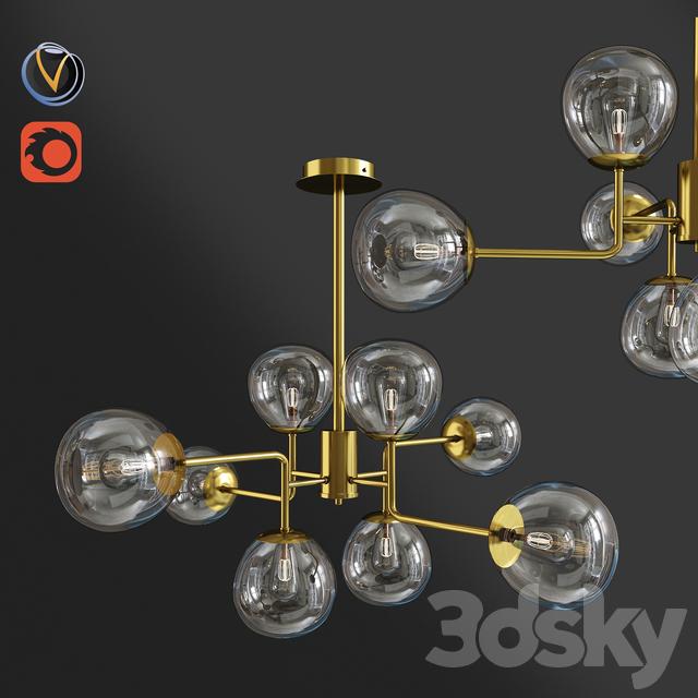 Maytoni Four Rod Lamp 2