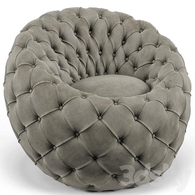 Ramie Gray Egg Chair