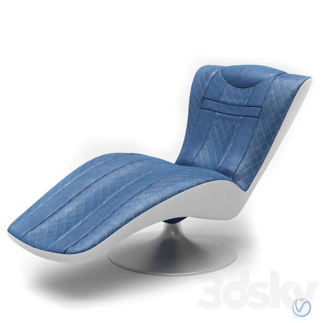 Tonino Lamborghini Casa - Dormeuse Lounge chair