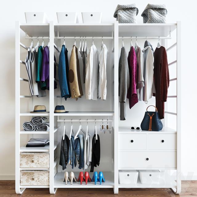 Wardrobe ELVARLI IKEA