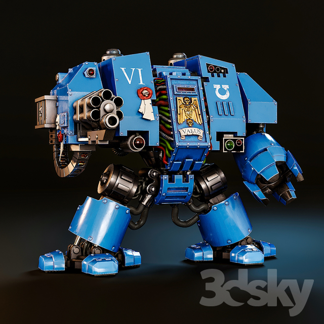 Dreadnought Space Marines