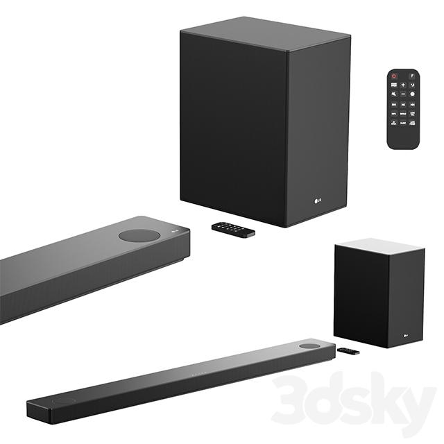 LG 5.1.2 ch High Res Audio Sound Bar w- Meridian Technology