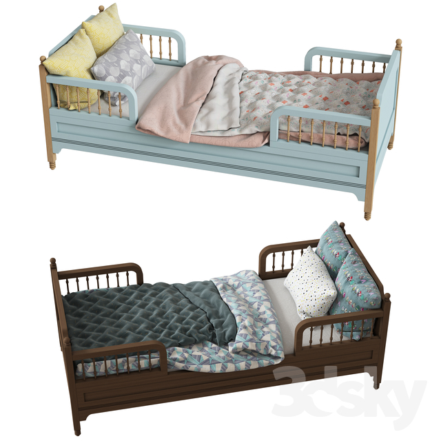 Children's bed SOFIA TODDLER BED