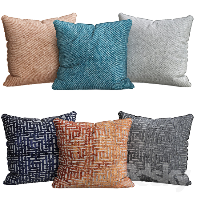 Allover crosshatch jacquard velvet pillow covers