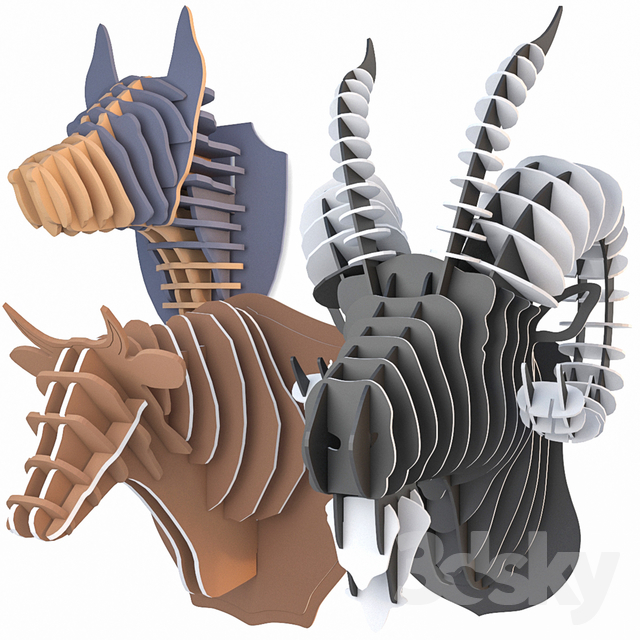 Animal Trophy Collection 6