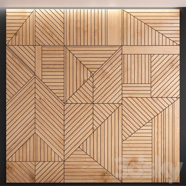 Decorative wall panel 01