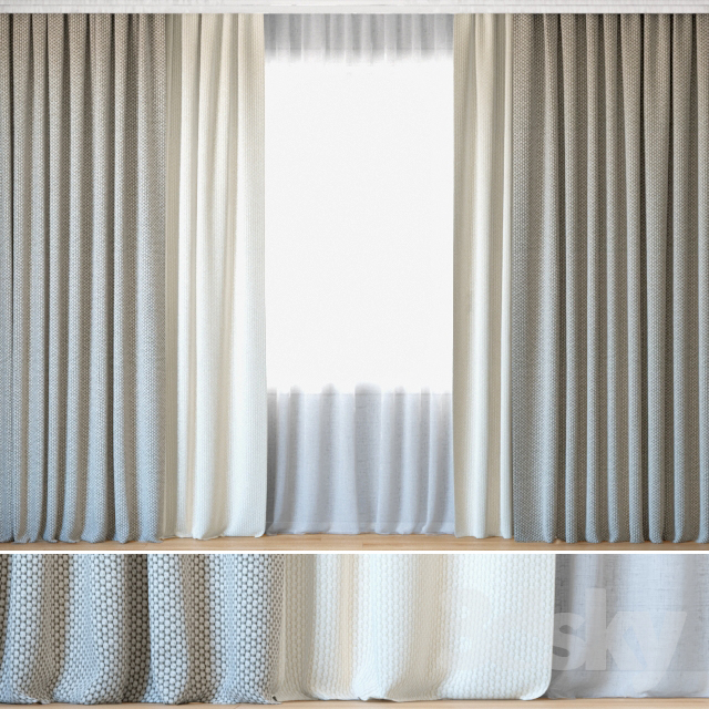 Curtains 102 | Curtains with Tulle | ROHI | Opera