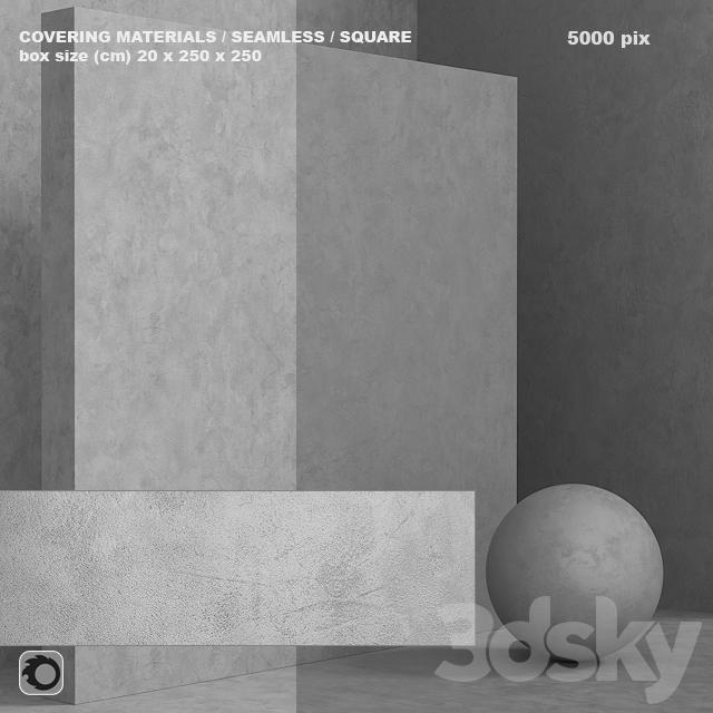 Material (seamless) - concrete plaster set 106