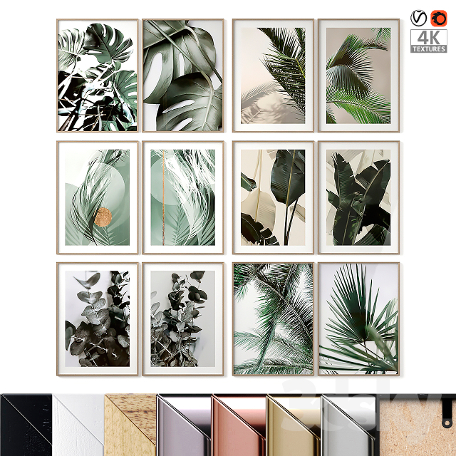 Green Poster Set 01