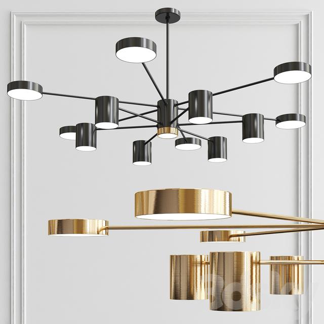 Sputnik Chandelier Ambient 12-Lights