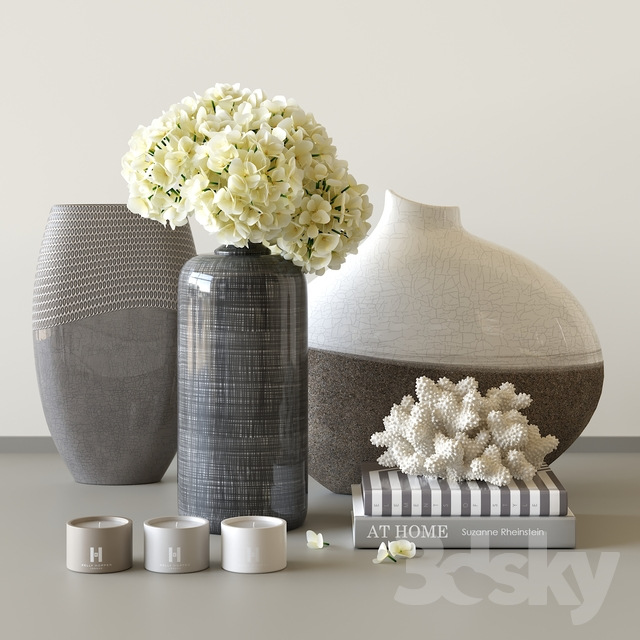 Decorative set by Kelly Hoppen
