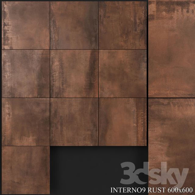 ABK Interno9 Rust 600x600