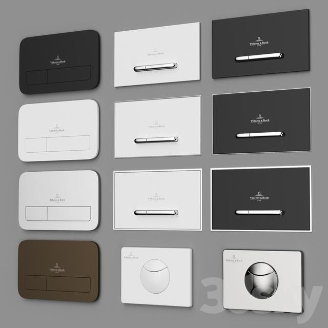 Villeroy & Boch flush plates