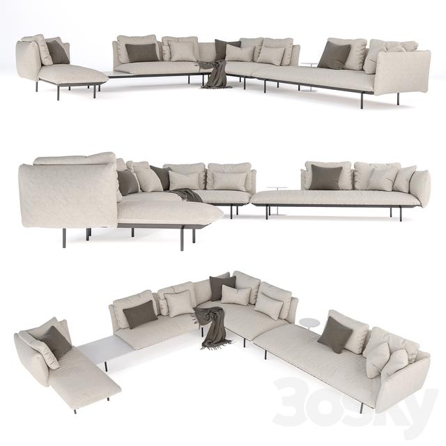 TRIBU Senja modular garden furniture