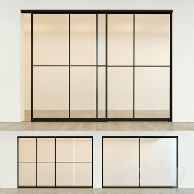 Sliding partition door 13