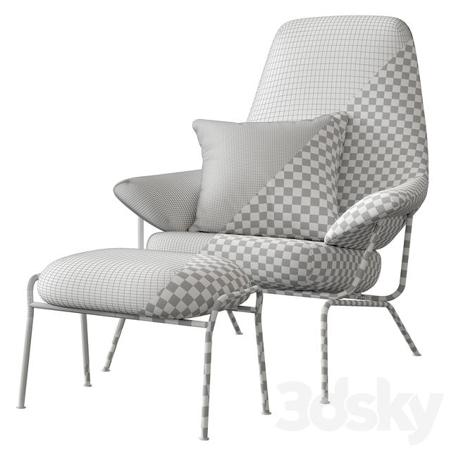Pleasant 3D Models Arm Chair Hem Hai Chair Machost Co Dining Chair Design Ideas Machostcouk