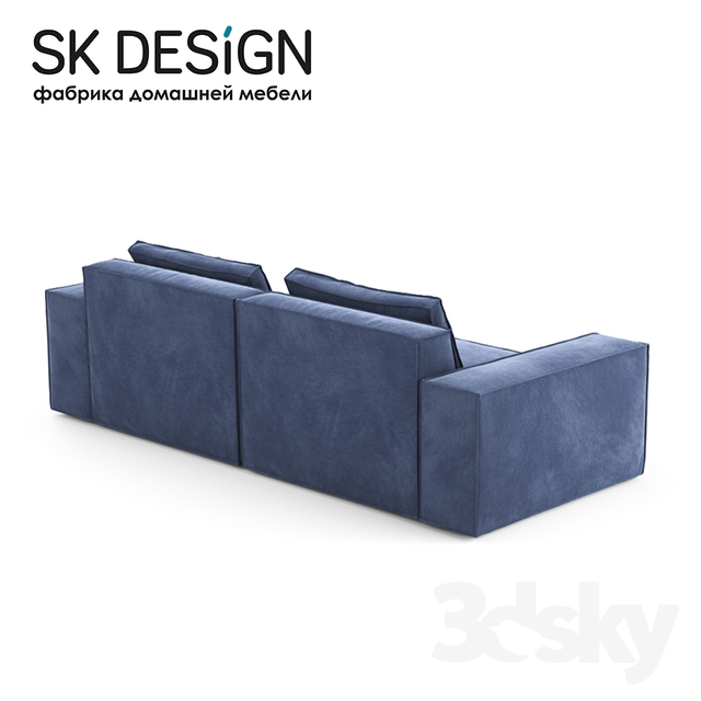 Fabulous 3D Models Sofa Om Triple Sofa Jared St 204 Caraccident5 Cool Chair Designs And Ideas Caraccident5Info