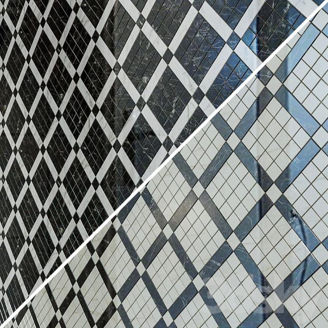 ATLAS CONCORDE MARVEL PRO Gray Fleury Diagonal Mosaic