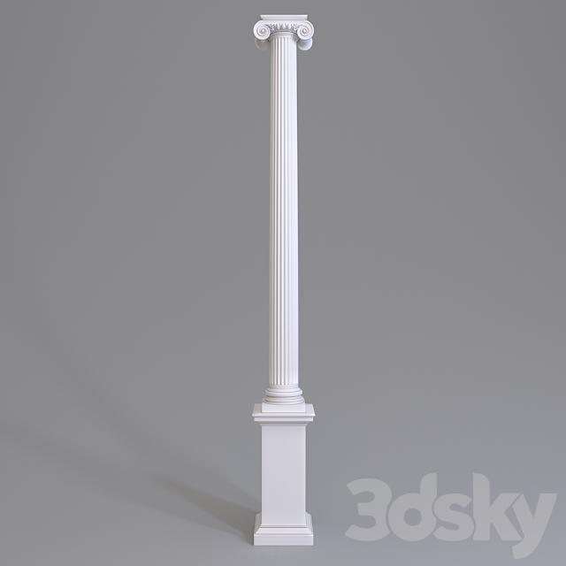 Colon Europlast. Capital: 1.11.009 Barrel: 1.12.070 Base: 1.13.800 Pedestal 1.14.002