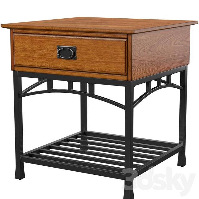 Wetterhorn end table