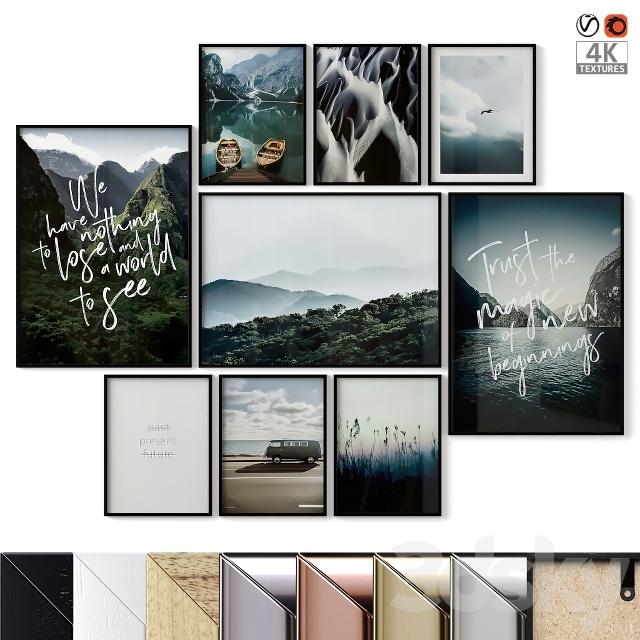 "Poster Set ""Hills"""