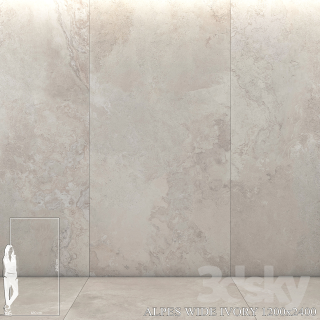 ABK Alpes Wide Ivory 1200x2400