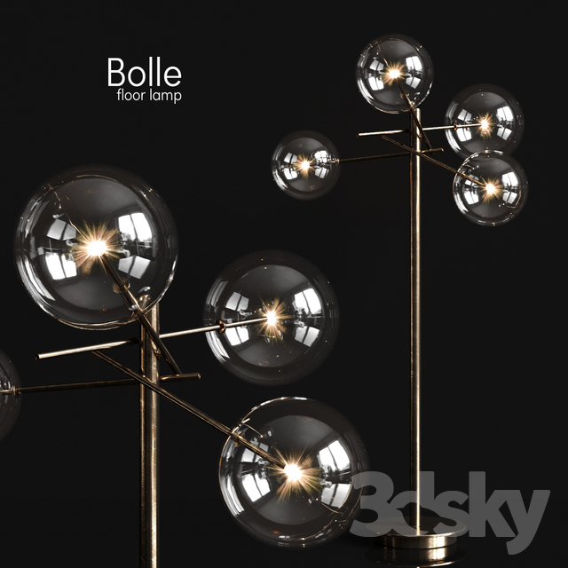Floor lamp Gallotti & Radice Bolle