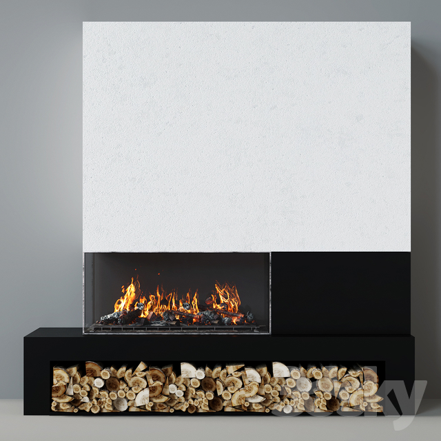 Modern fireplace 18