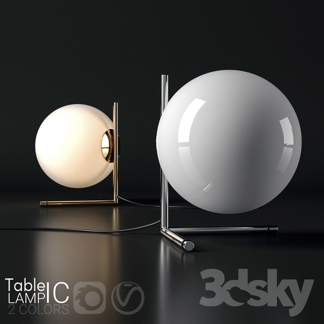 Table lamp  IC 2
