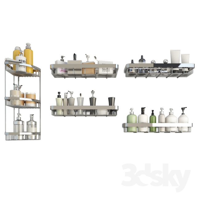 Bathroom Products and Corner Shelves