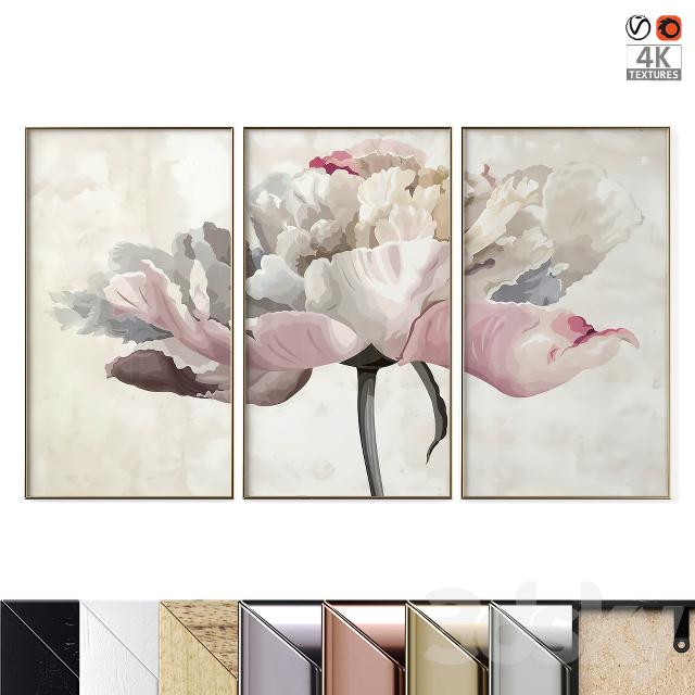 "Poster Set ""Flower"""