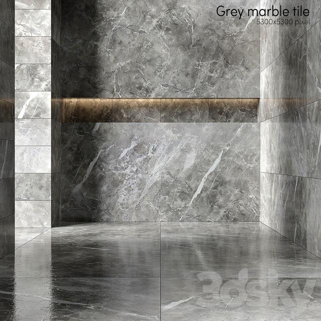 Gray marble tiles 2