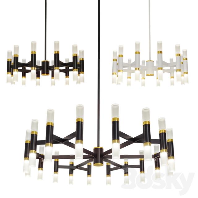 Draven chandelier set