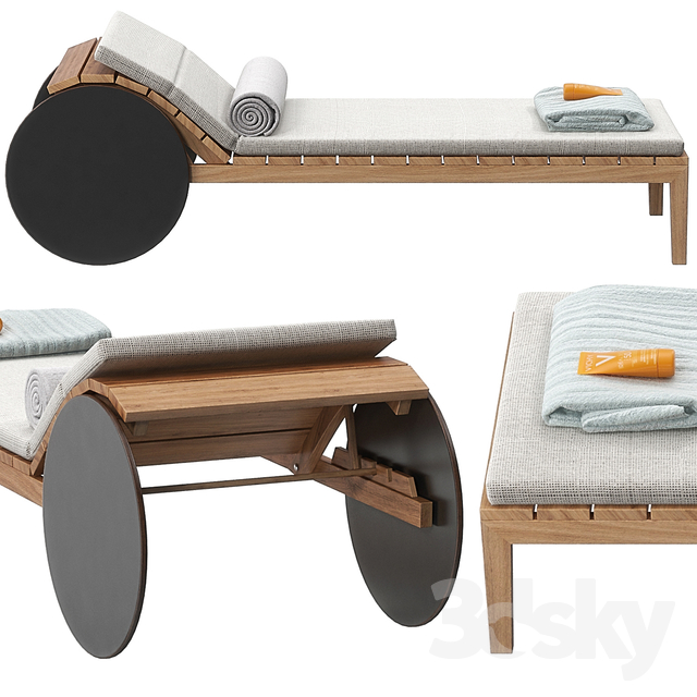 Suno lounger by potocco