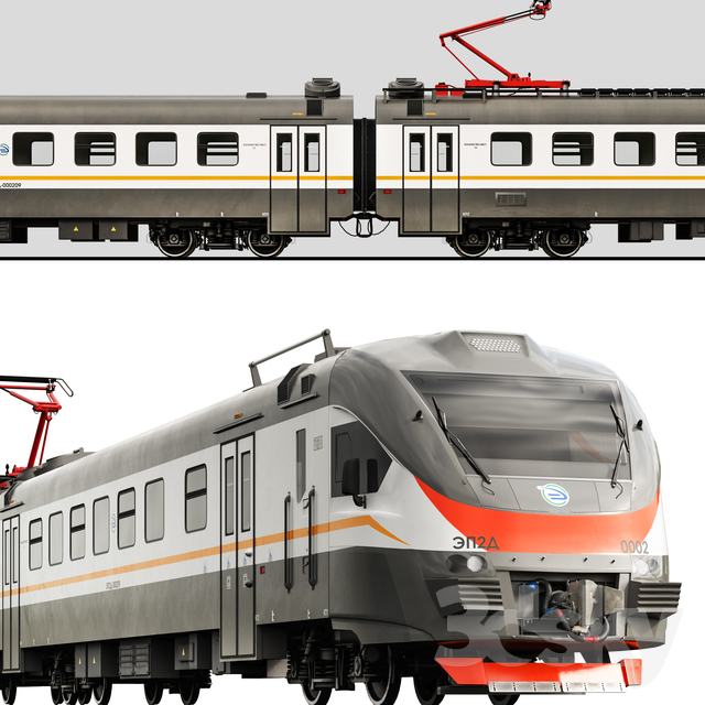 Electric train EP2D