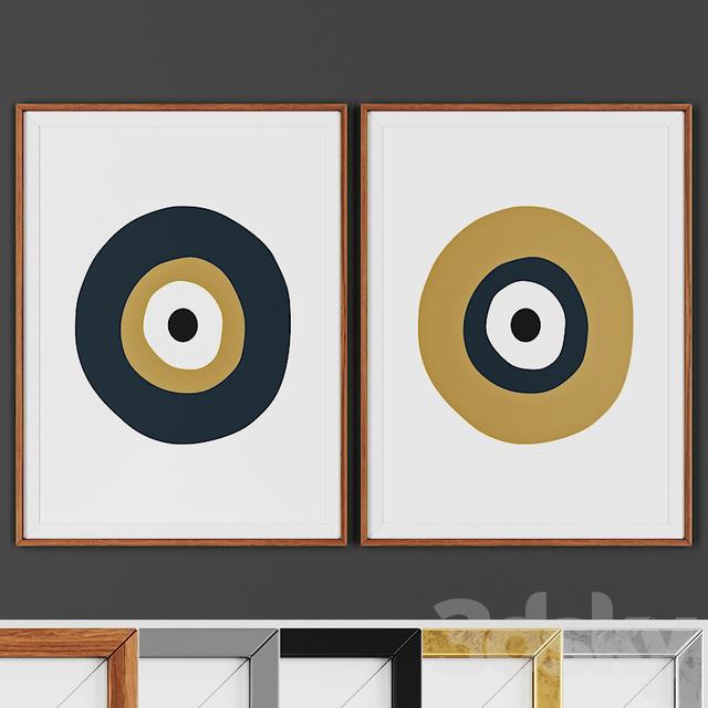 Picture frame set 00016-3