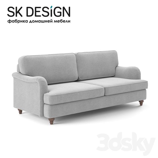 Remarkable 3D Models Sofa Om Triple Sofa Orson St 176 Lamtechconsult Wood Chair Design Ideas Lamtechconsultcom