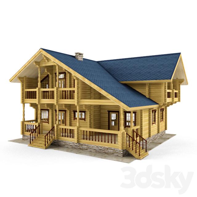 House of laminated veneer lumber