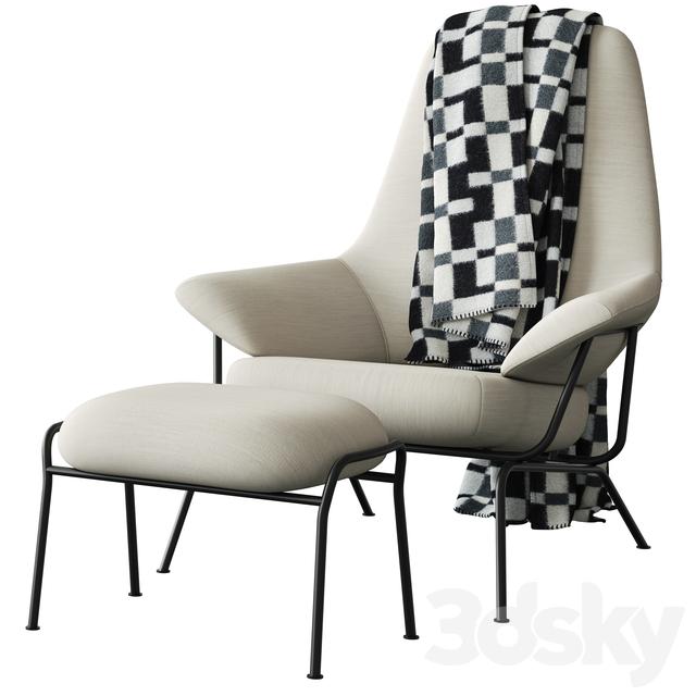 Terrific 3D Models Arm Chair Hem Hai Chair White Machost Co Dining Chair Design Ideas Machostcouk