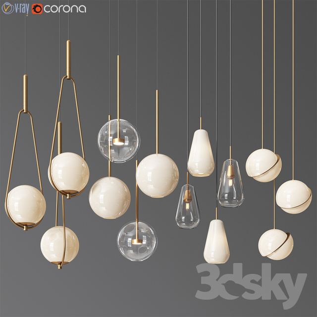 Pendant Light Collection 11 - 4 Type
