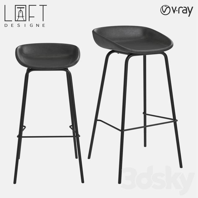 Bar stool LoftDesigne 30100 model
