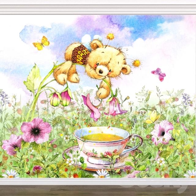 WALLSTREET / wallpapers / Tea Time 17194