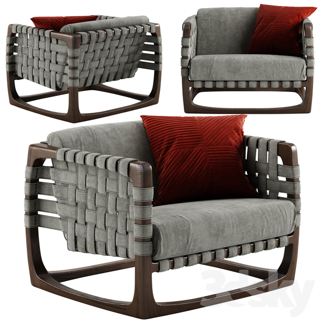 Riva bungalow armchair