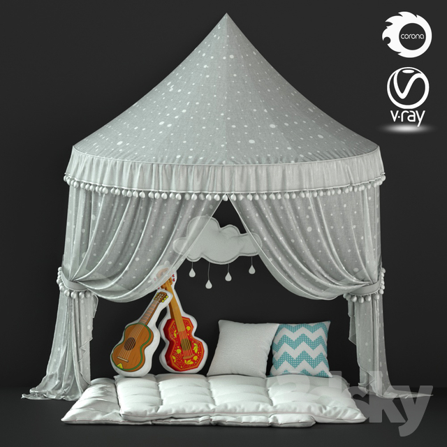 Children's tent for games